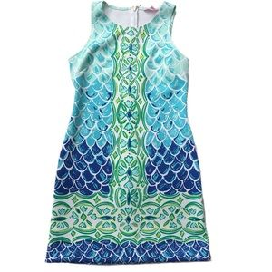 Lilly Pulitzer Scale Back Perla Shift Dress Small